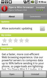 போனில் தமிழ் படிக்க இயலும் - How to read tamil web sites in mobile phones Opera